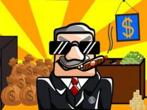 Corrupt Mayor Clicker game