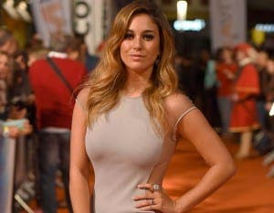 BLANCA SUAREZ: Wowed at the premiere of Charles, King Emperor.