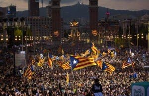 Calalunya celebrates regional election victory for separatist parties