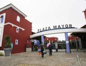 Plaza Mayor near Malaga airport