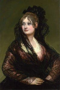 FAKE? Goya's painting of  Doña Isabel de Porcel