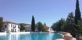 Huelva pool town square