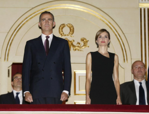 The King and Queen of Spain attended the inaugural performance of the 2015/16 season