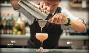 HAPPY MIX: Food and spirits toasted at Madrid conference