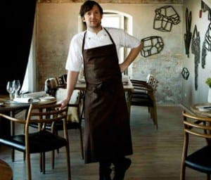 Ren Redzepi in Noma restaurant, which is top of the world's best 50 restaurants for the third year