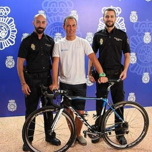 THE BICYCLE THIEF: Spanish police recover Vuelta a Espana bike