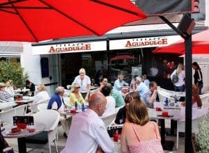 PUERTO BANUS: Eveline Paelemans' well-established restaurant, Terraza Aguadulce