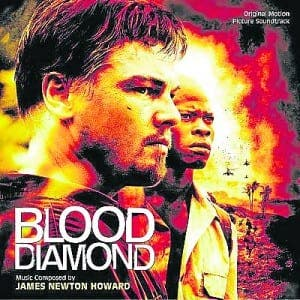 Blood Diamond film featuring Leo Di Caprio