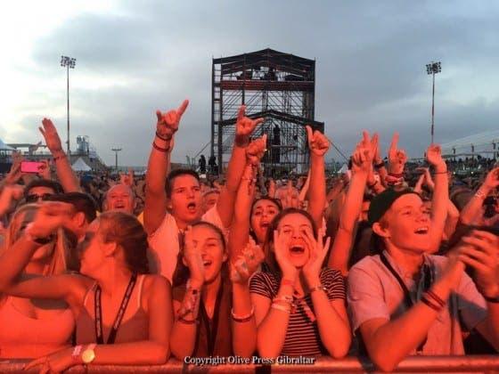 gibraltar music festival crowd IMG