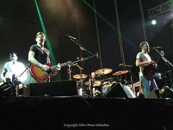 gibraltar music festival kings of leon IMG