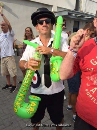 gibraltar music festival nutty fan IMG