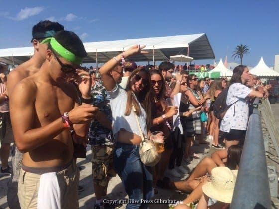 gibraltar music festival teenage fans IMG