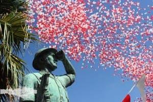 Gibraltar National Day balloons. Photo: travellersinkblog.com