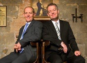 Gibraltar businessmen Andy and John Hunter