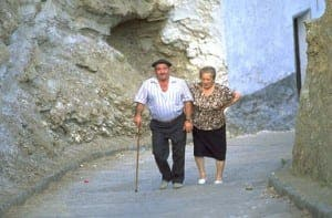 Old folks in Spain live longer