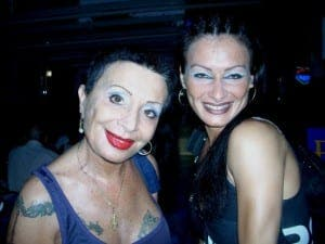 Sticky Vicky and daughter