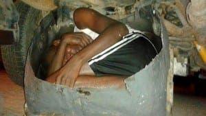 Car-belly-smuggling