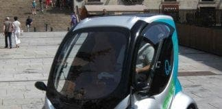 Electric car e