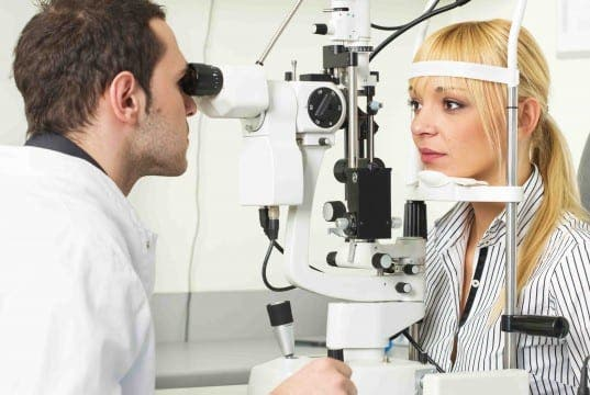 TESTING TIMES: Specsavers Optima are introducing revolutionary new eye-testing kit