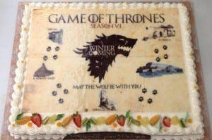 Game of throne cake