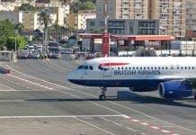 Gibraltar Airport British Airways e