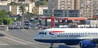 Gibraltar Airport British Airways e