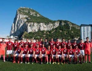 GIBRALTAR FOOTBALL: Lincoln Red Imps