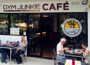 The Gym Junkie Cafe, Spain's first protein eaterie