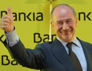 CHARGED: Former Spanish deputy prime minister Rodrigo Rato
