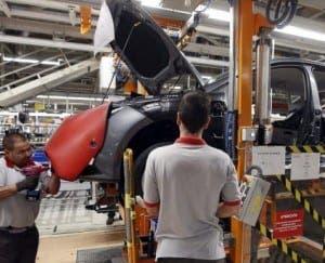 SEAT workers in Spain