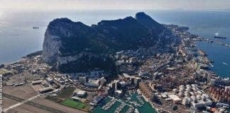 The Port of Gibraltar Aerial View from the North West e