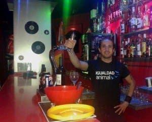 Afrika Vegan Rock Bar in Almunecar