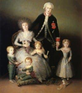 GOYA: The Duke of Osuna and his Family - 1788