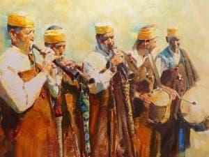 RACHID HANBALI: Making music the Moroccan way