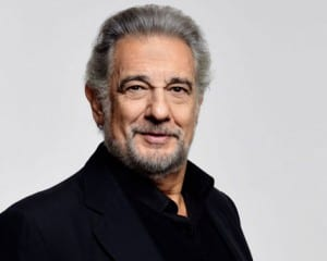 Award-winning tenor and baritone Placido Domingo