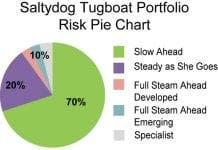 salty dog Risk Pie Chart