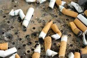 UP IN SMOKE: Figures show drop in daily cigarette use