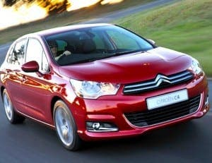 Citroen C4: Most sold car in Spain for the first eight months of 2015