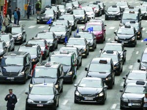 taxi-protest-brussels