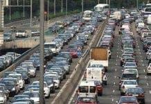 traffic jam spain e