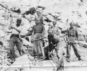 PRISONERS: Republicans at Valle de Los Caidos