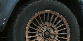 Puncture plonker Flat tyre e
