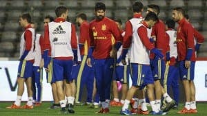 TERROR FEARS: Belgium on high alert as Spain game binned