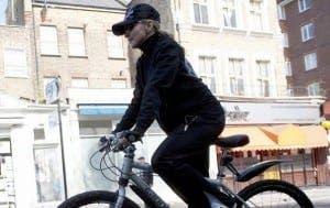 Madonna cycling