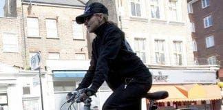 madonna on bike  e