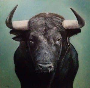 FIGHTING BULL: Cow herder in horrific goring