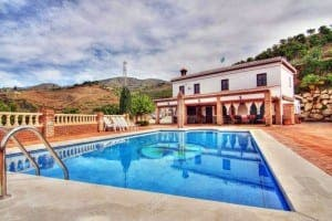 Working fruit farm and cortijo for sale close to sea, Velez-Malaga