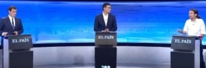 EL PAIS DEBATE: Albert Rivera, Pedro Sanchez and Pablo Iglesias duke it out