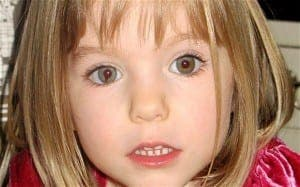 MADELEINE: Disappeared eight years ago