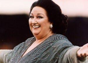 Spanish opera icon Montserrat Caballe